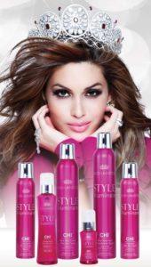 CHI Illuminate Style producten Miss Universe