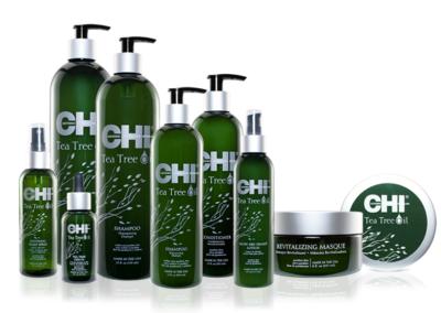 Alle producten uit de CHI Tea Tree lijn verkrijgbaar bij SOKO Kappers