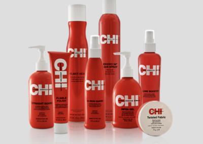 Alle producten uit de CHI Styling lijn bij Soko kappers